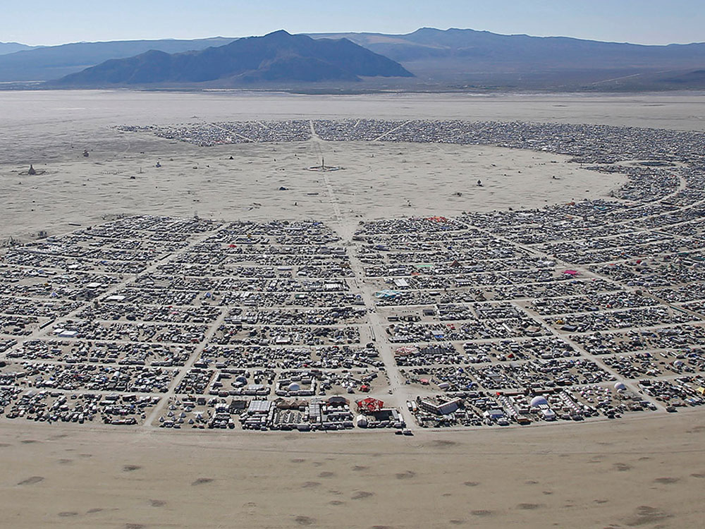 Burning Man at Black Rock Desert, Nevada