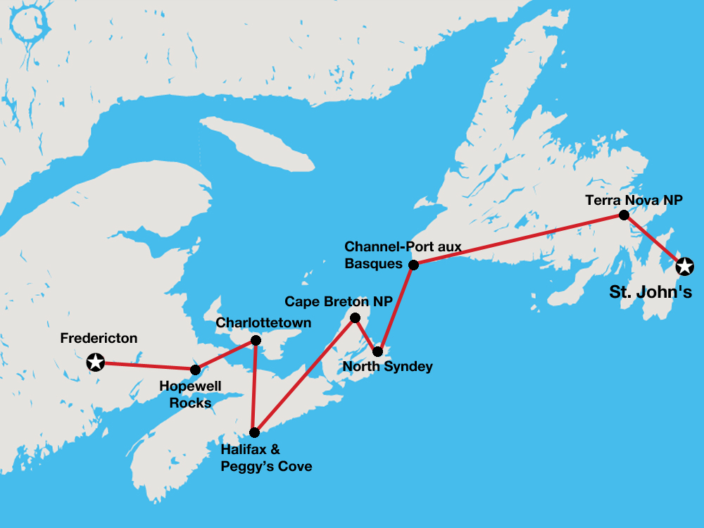 Atlantic Adventure tour