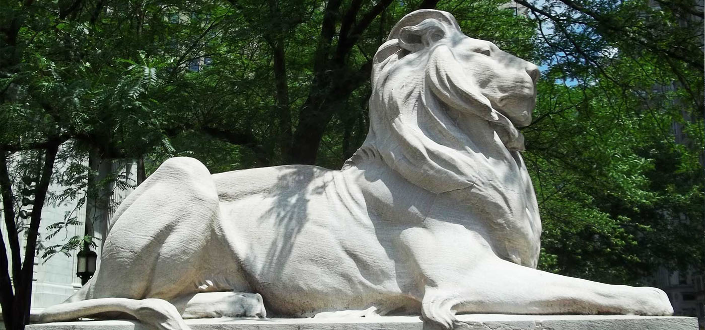 American Museum of Natural History Lion