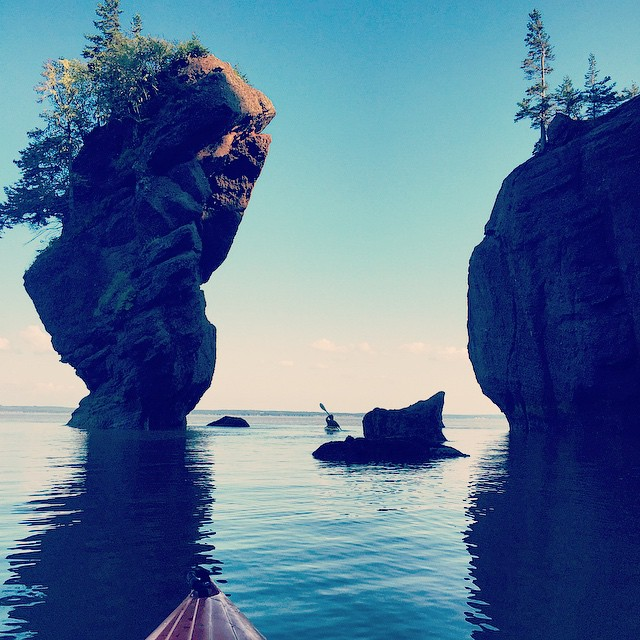 Bay of Fundy and Hopewell Rocks