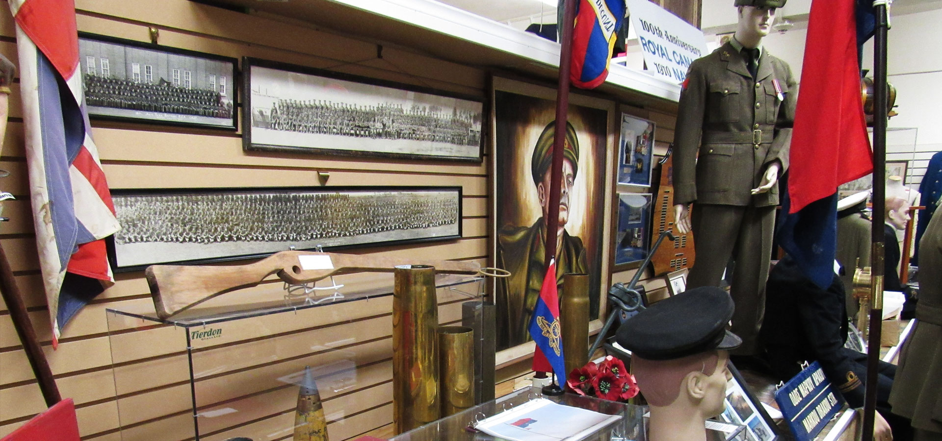 World War I Display