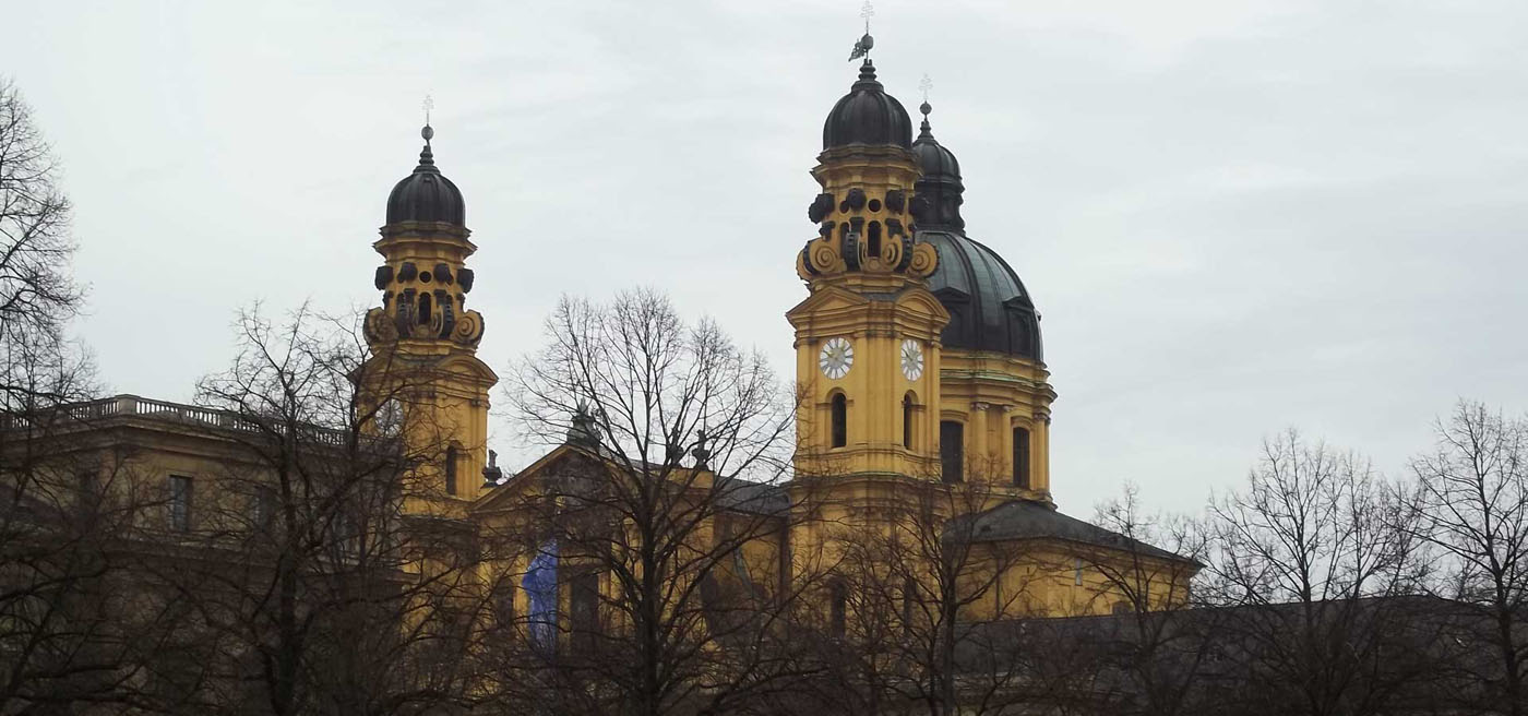 Theatinerkirche from Hofgarten
