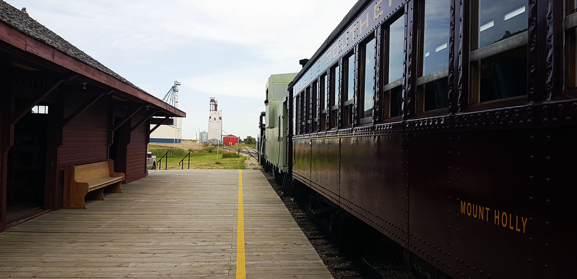 Southern Prairie Railway Train Station