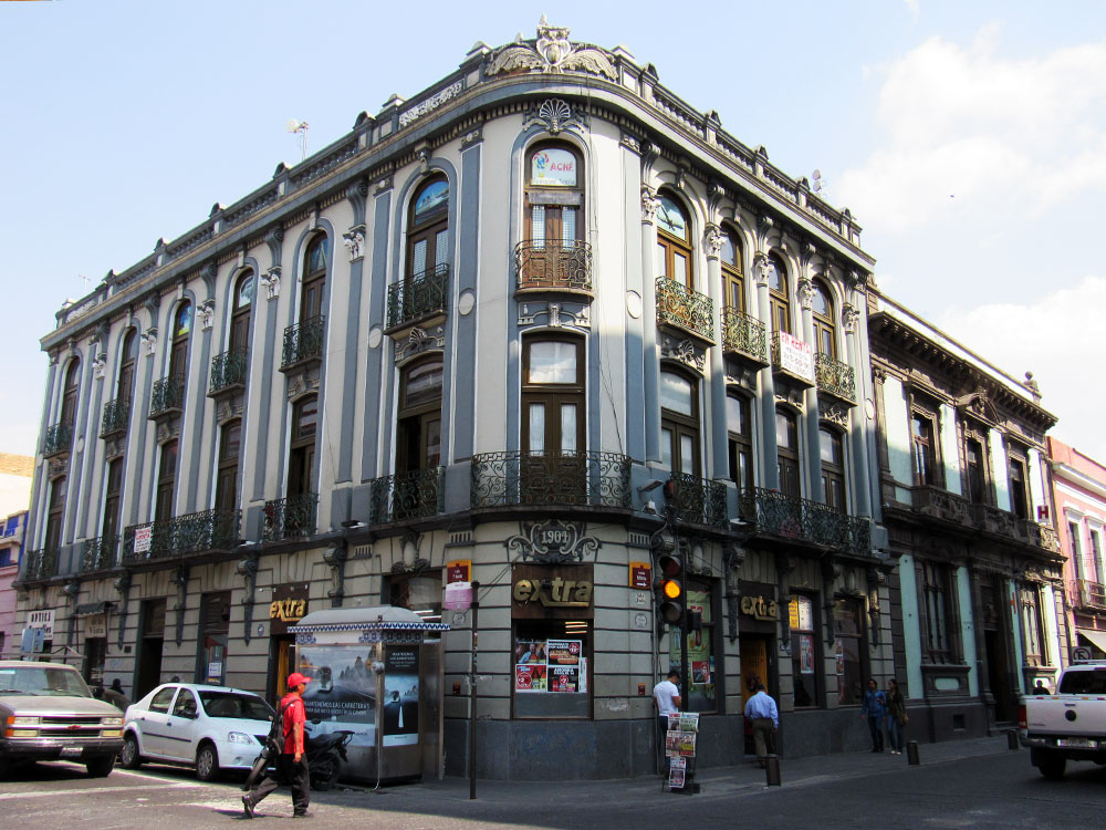 Shorter building in Puebla