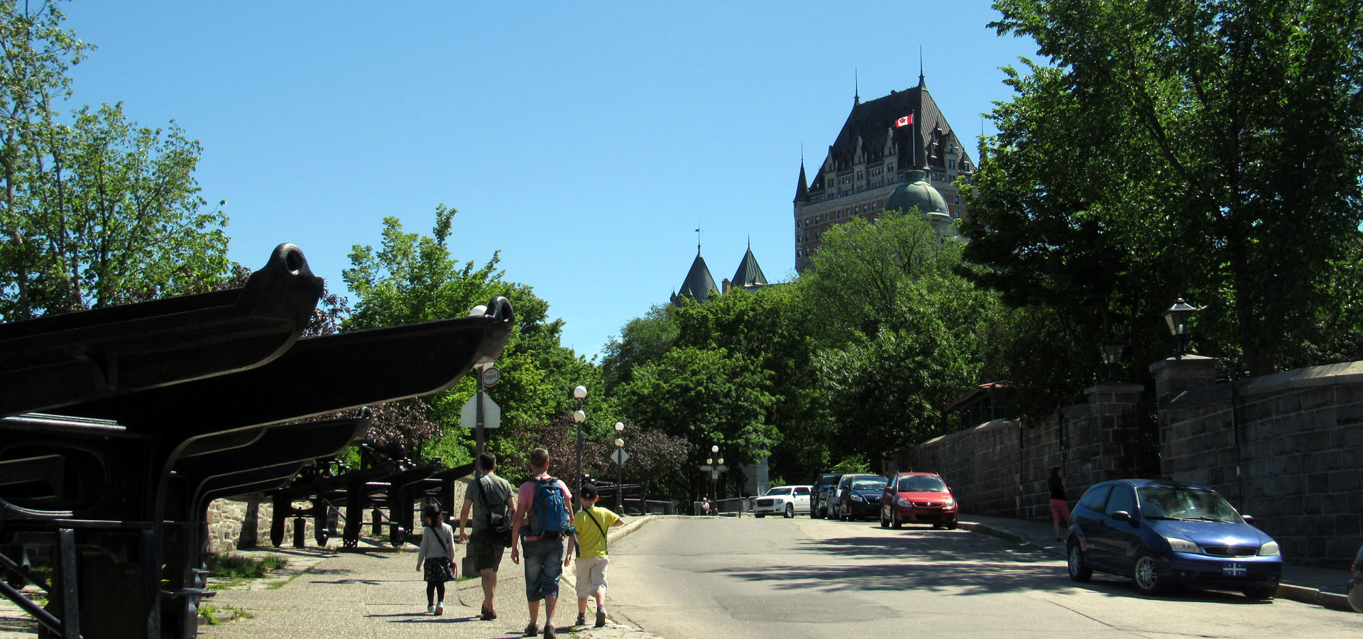 Quebec City is a very walkable city!