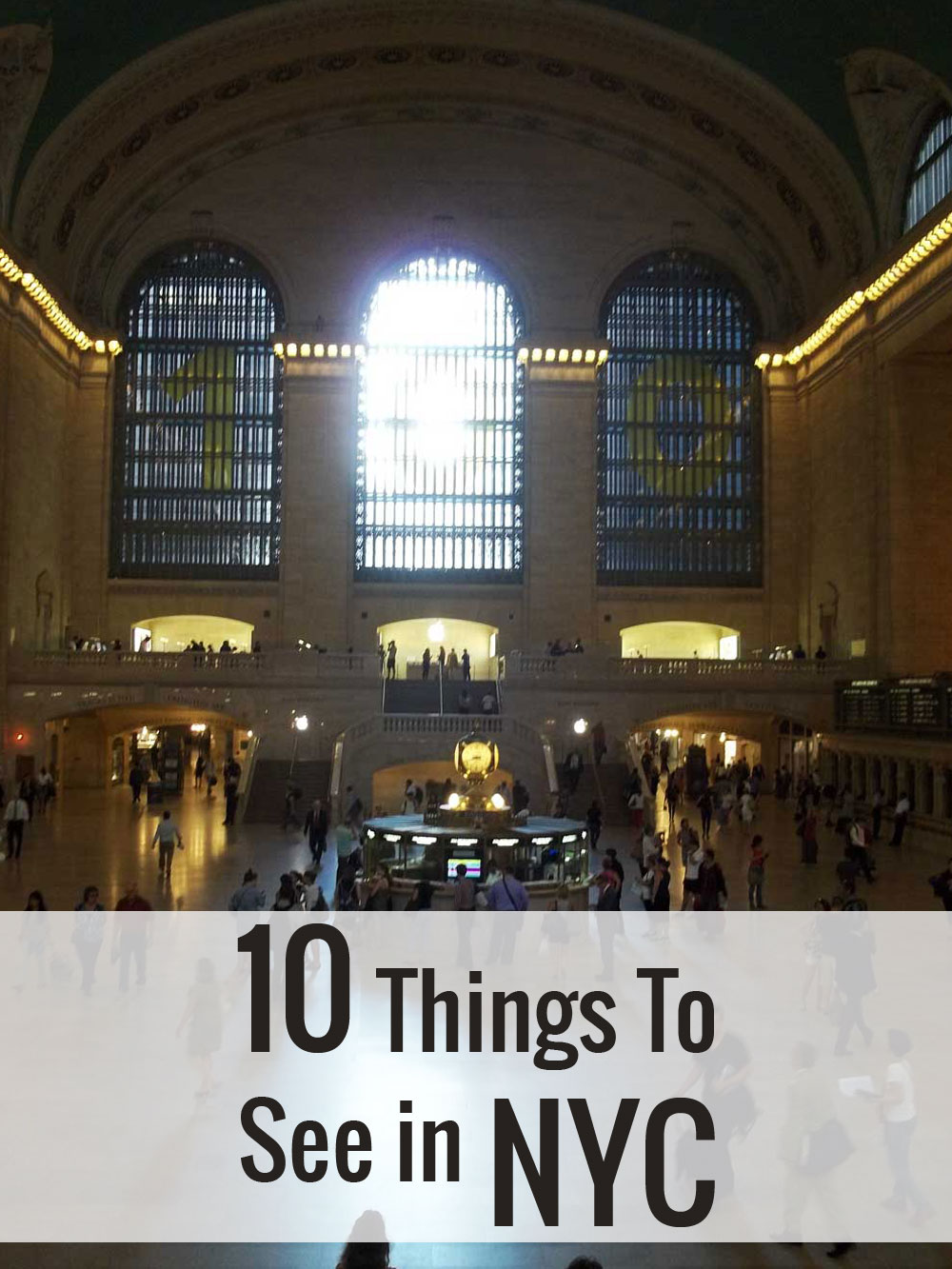 10 Things To See in NYC