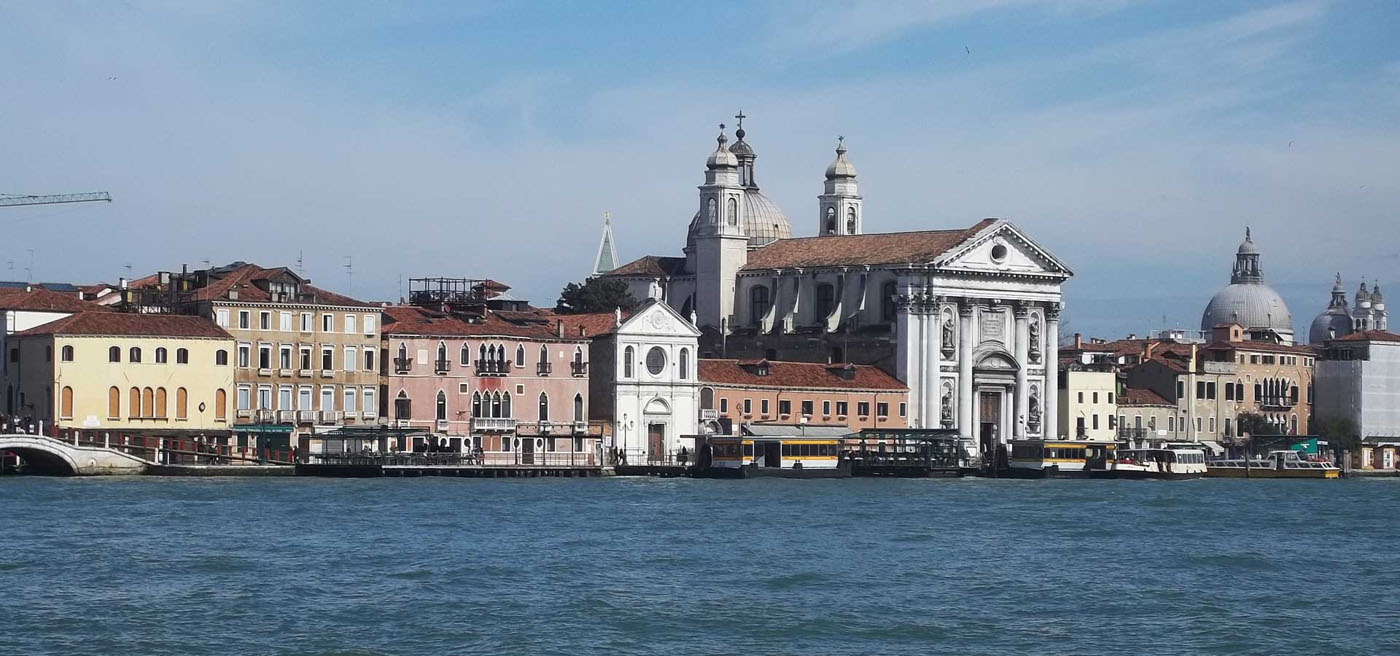 Arriving into Venice