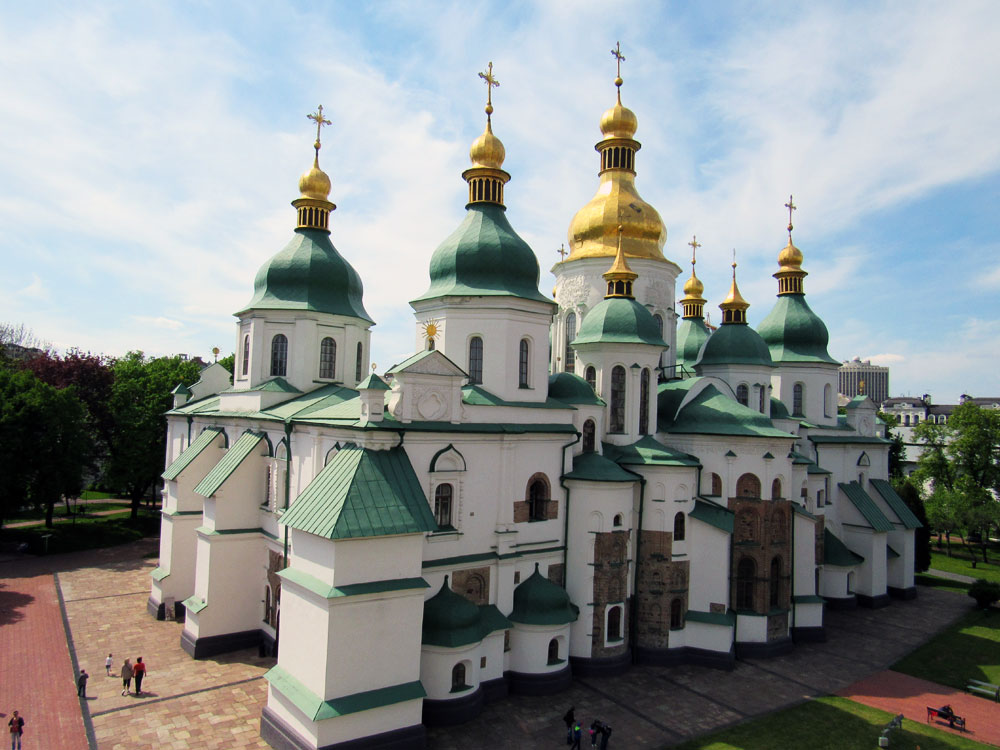Saint Sophia's Cathedral in Kyiv