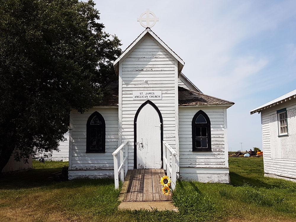 Deep South Pioneer Museum church in Ogema