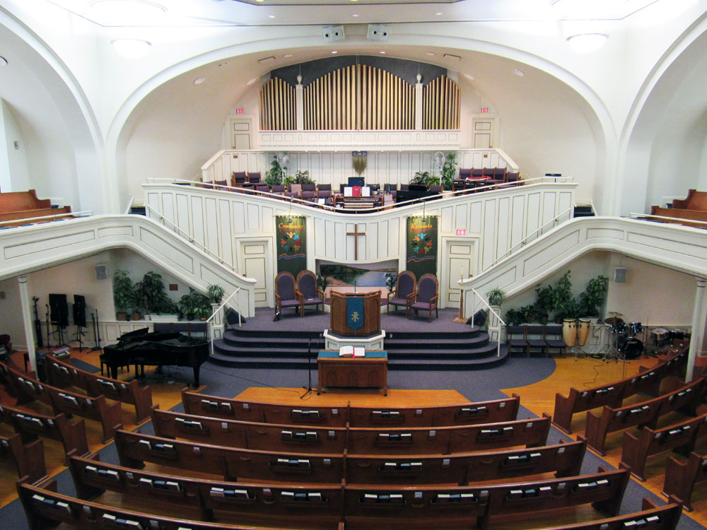 First Baptist Church Inside