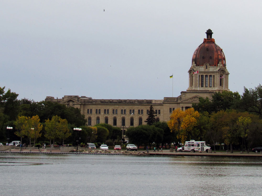 The Legislature with Bronze Dome