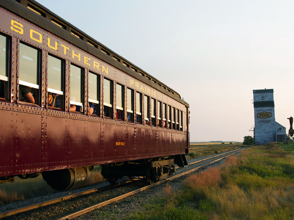 Omega and the Southern Prairie Railway