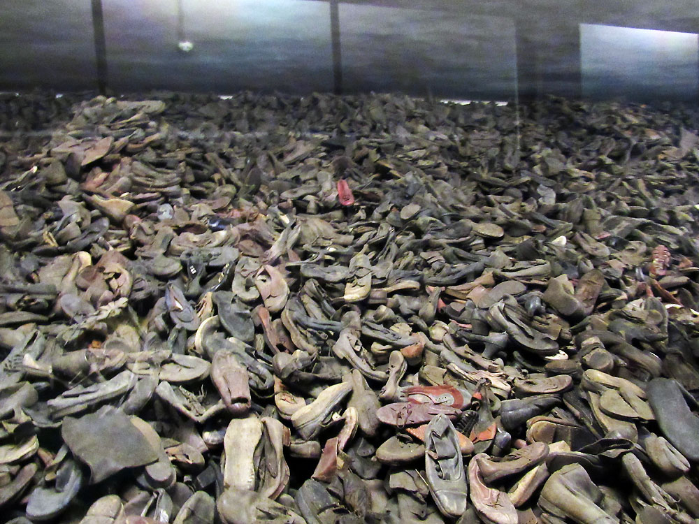 Shoes in Auschwitz