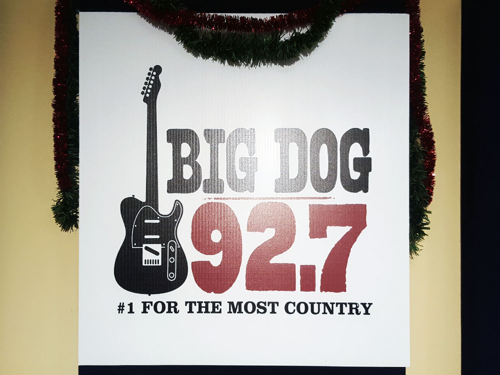 Big Dog 92.7 Number 1 For the Most Country