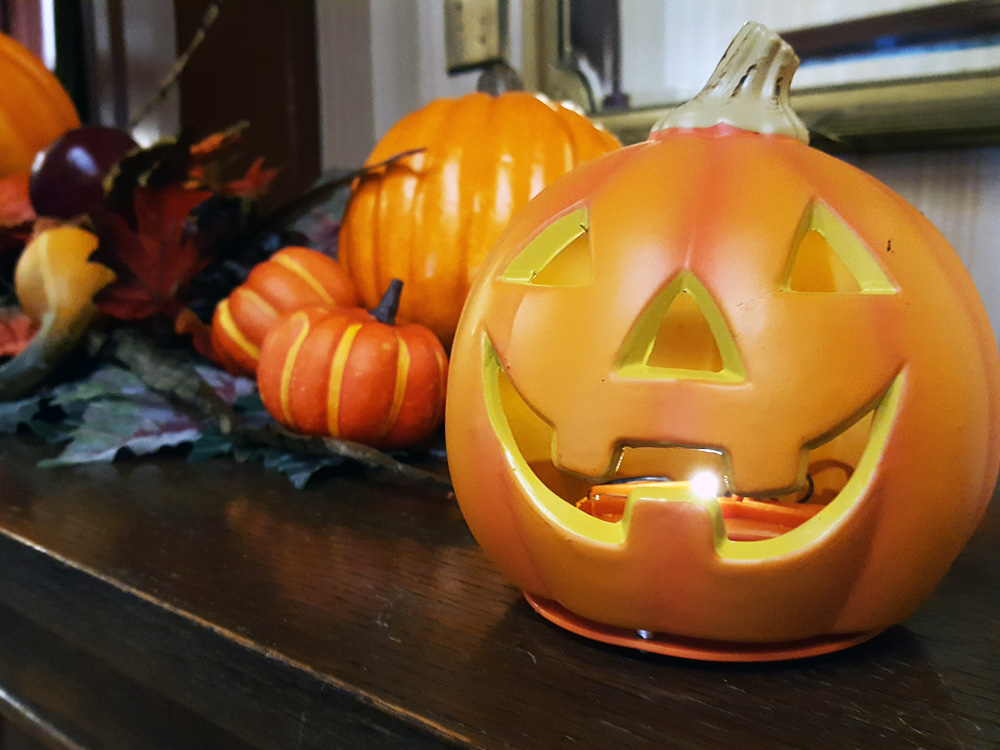 Jack-o-Lantern at Government House