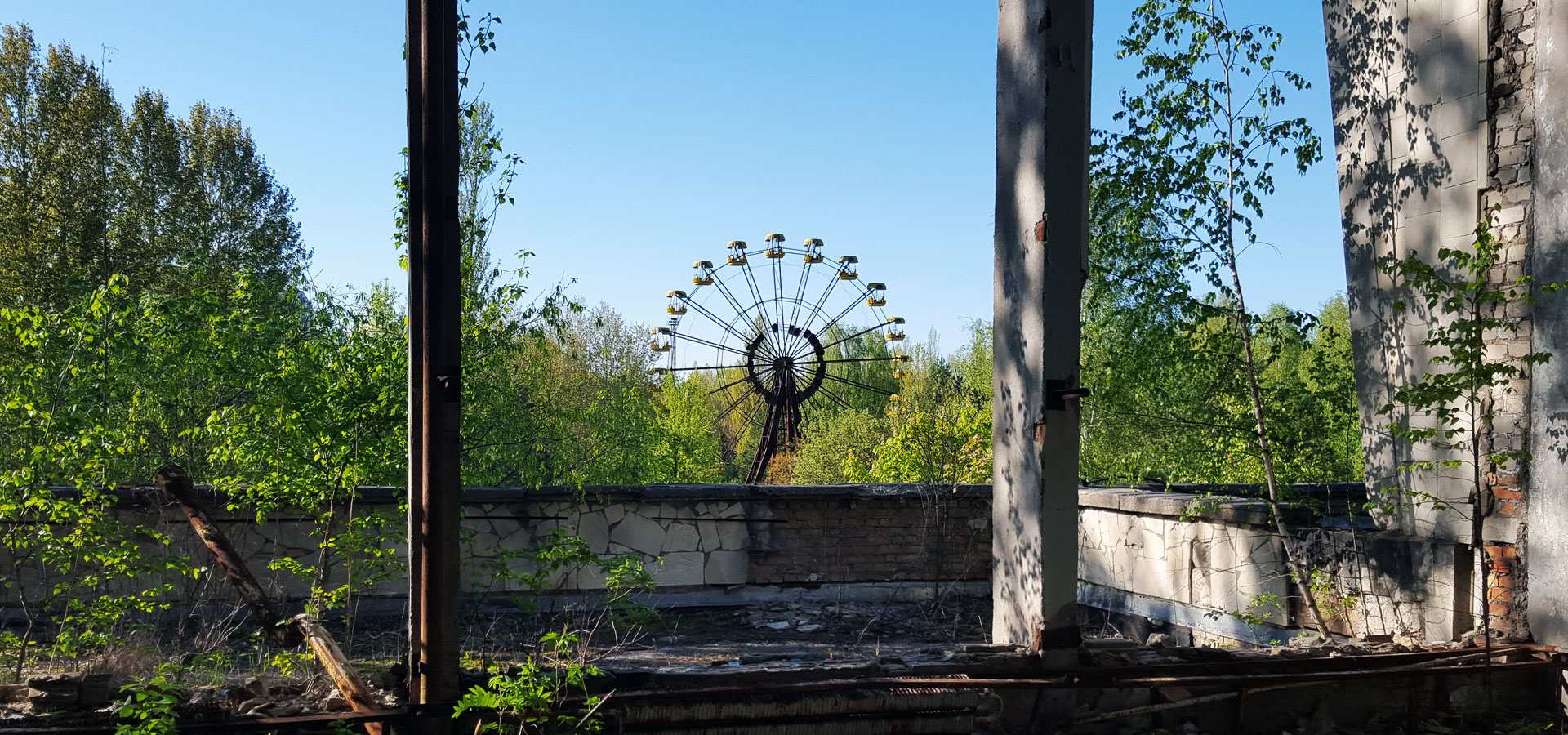 Ferris Wheel in Chernobyl