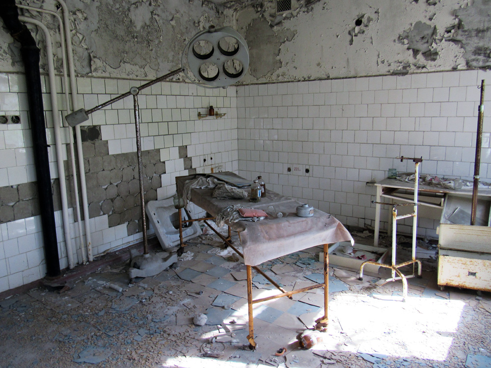Operating room in Pripyat Hospital