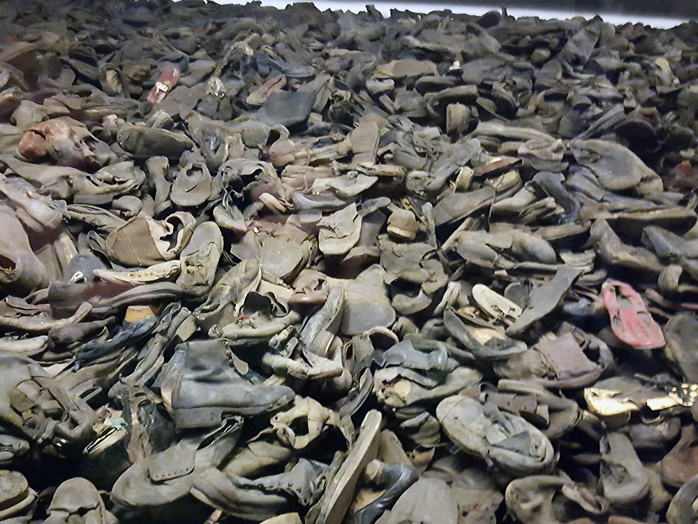 Shoes at Auschwitz-Birkenau