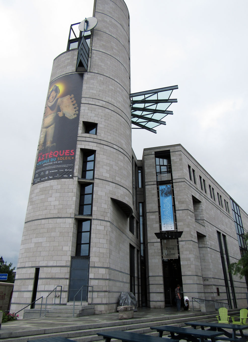 Pointe-à-Callière Museum in Montreal