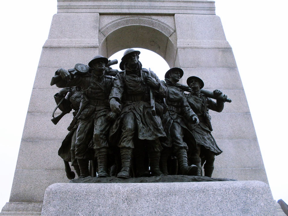 National War Memorial in Ottawa