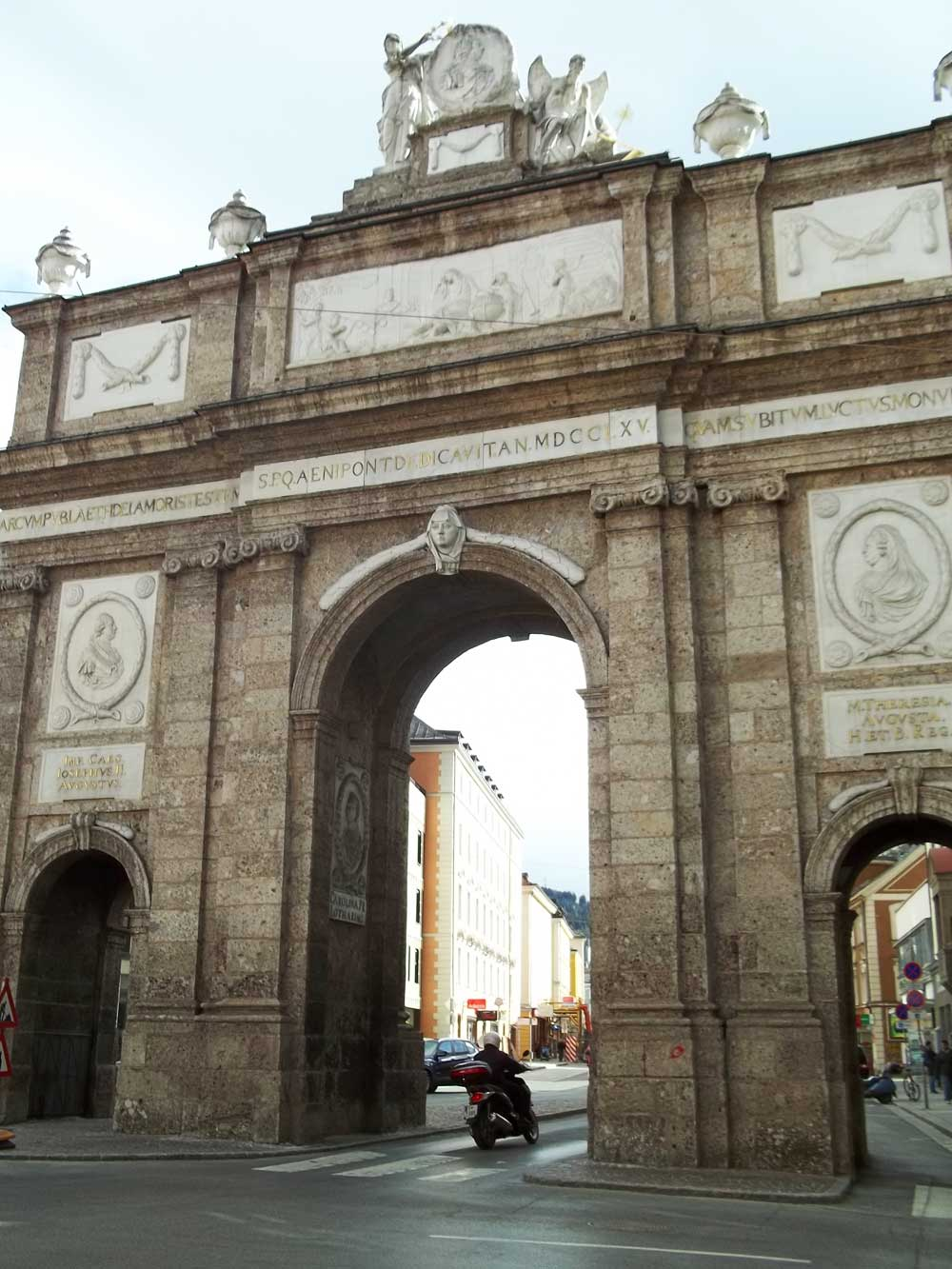 Arch in Innsbruck