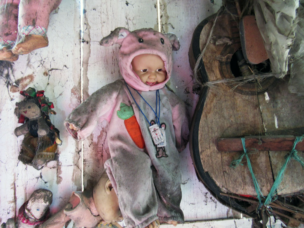 Doll that laughed at Zak and Aaron from Ghost Adventures