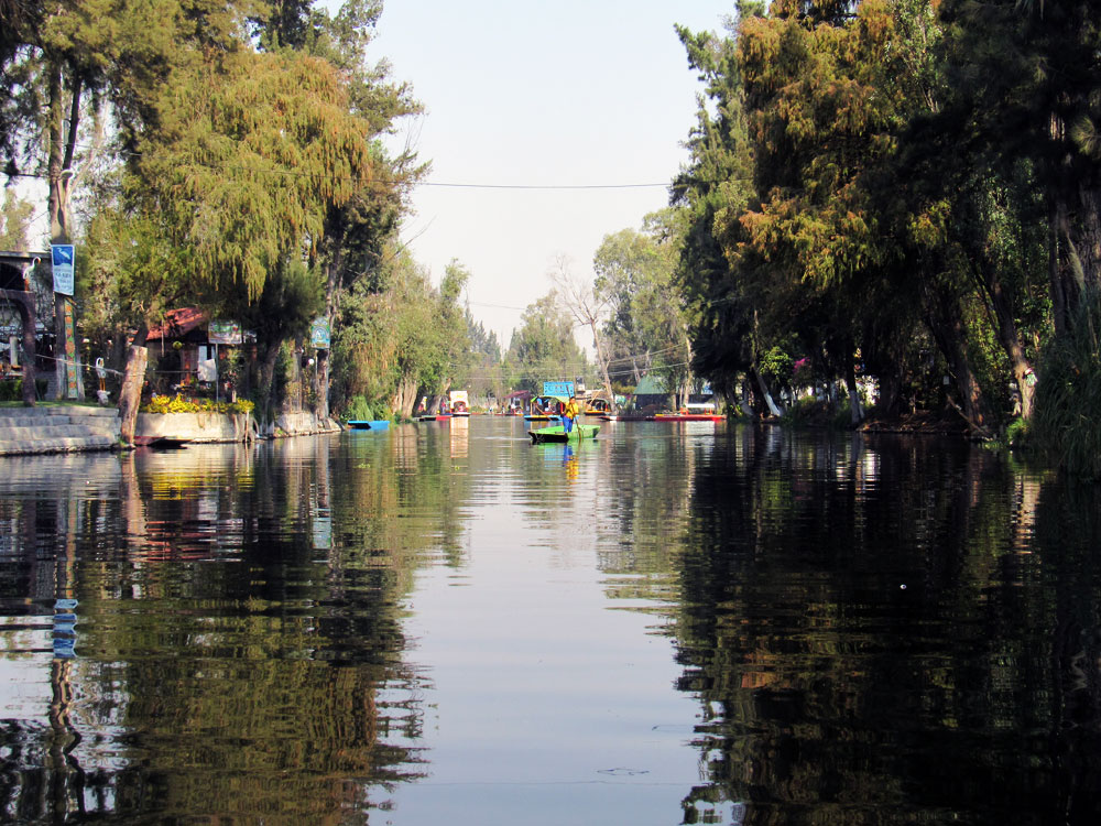 Xochimilco Floating Market