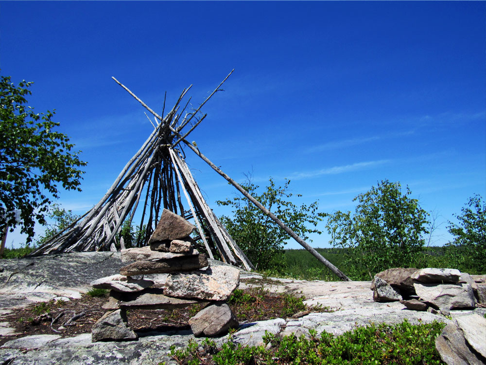 Nut Point Trail Tipi