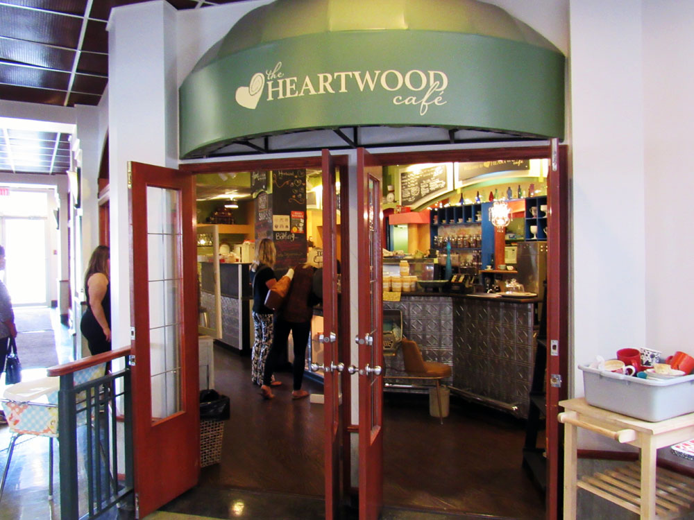 Heartwood Cafe in Medicine Hat