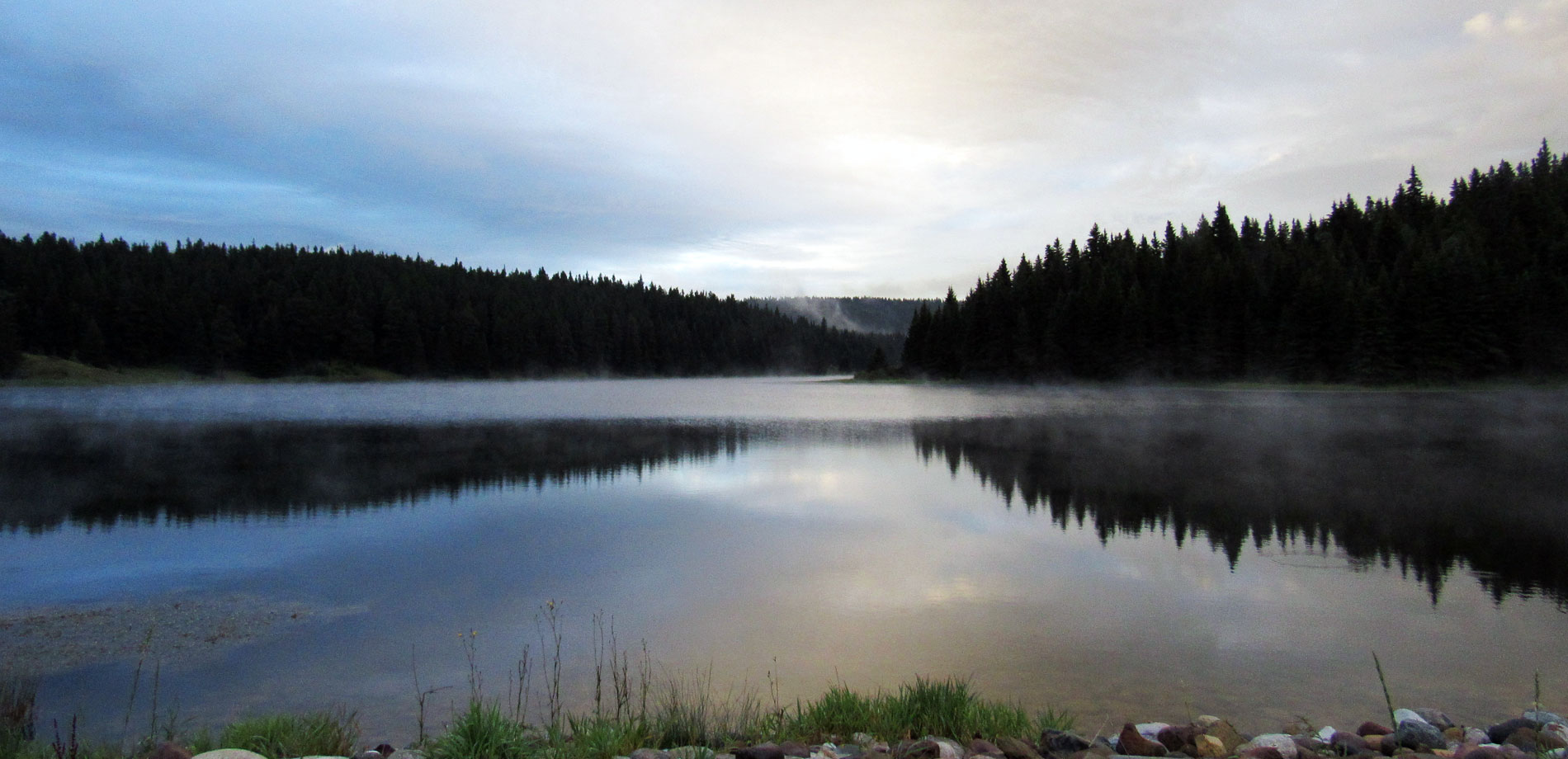 Morning Lake in Cypress Hills