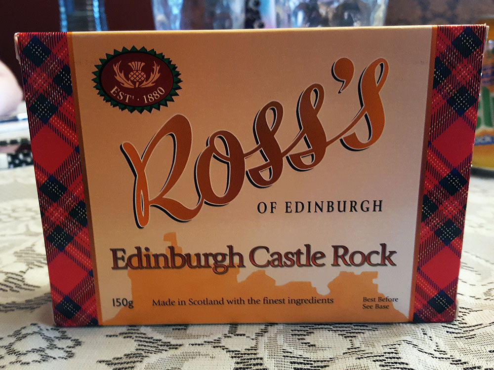 Ross's Edinburgh Rock