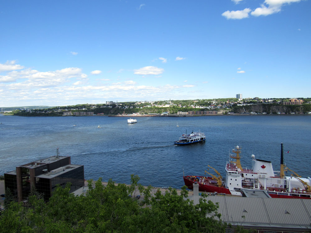 Take the ferry to Quebec City!