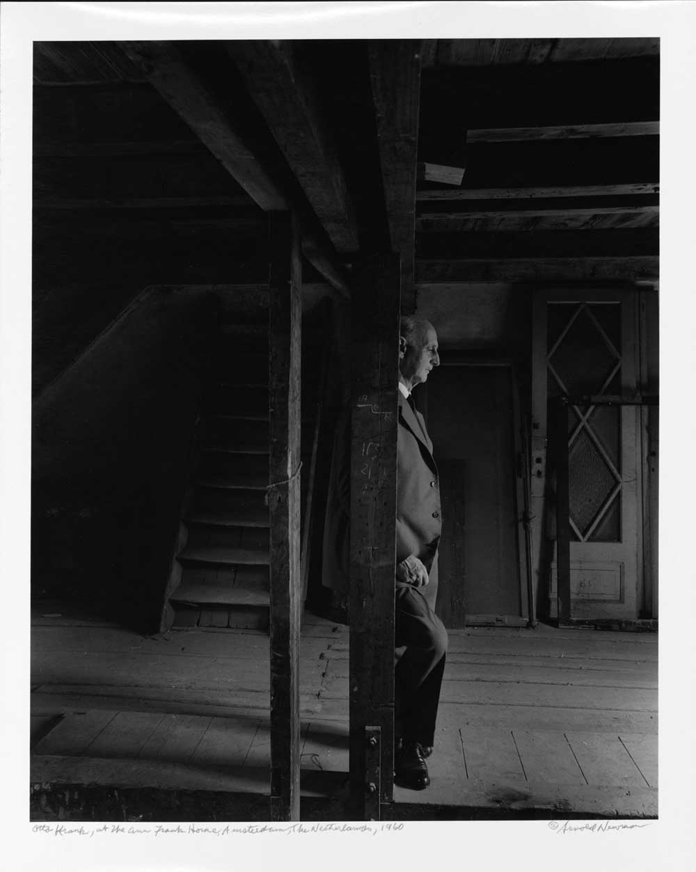 Otto Frank in Amsterdam after the war