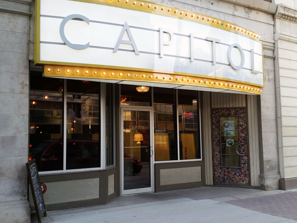 New Capitol Front