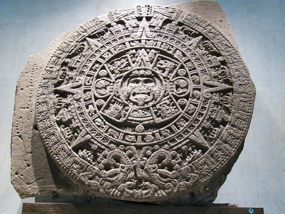 Aztec calendar at The National Museum of Anthropology