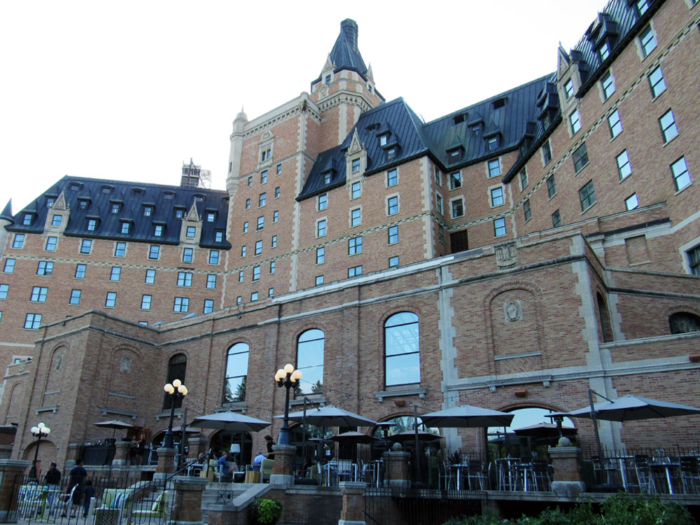 Delta Bessborough back of hotel