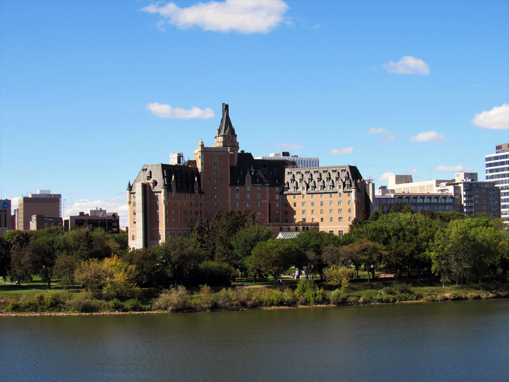 Delta Bessborough from across river
