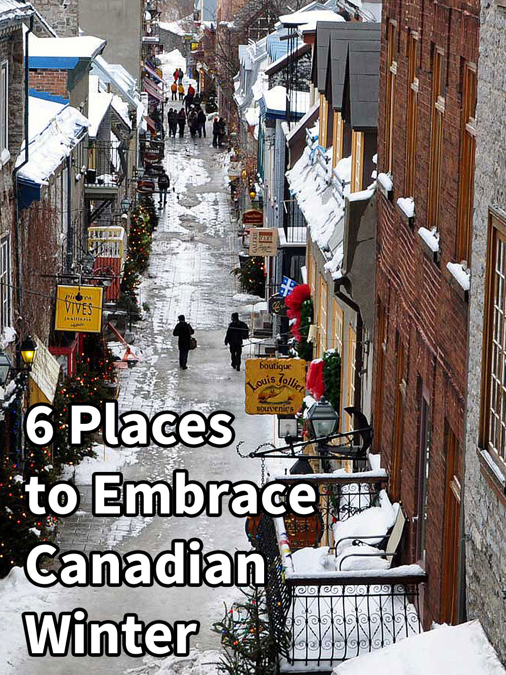 6 Places to Embrace Canadian Winter