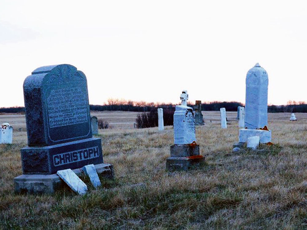 PAST Saskatchewan at One Eye Cemetery