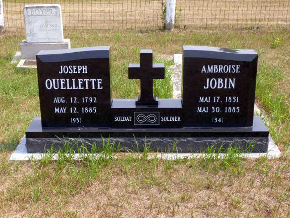 Grave of Joseph Ouellette