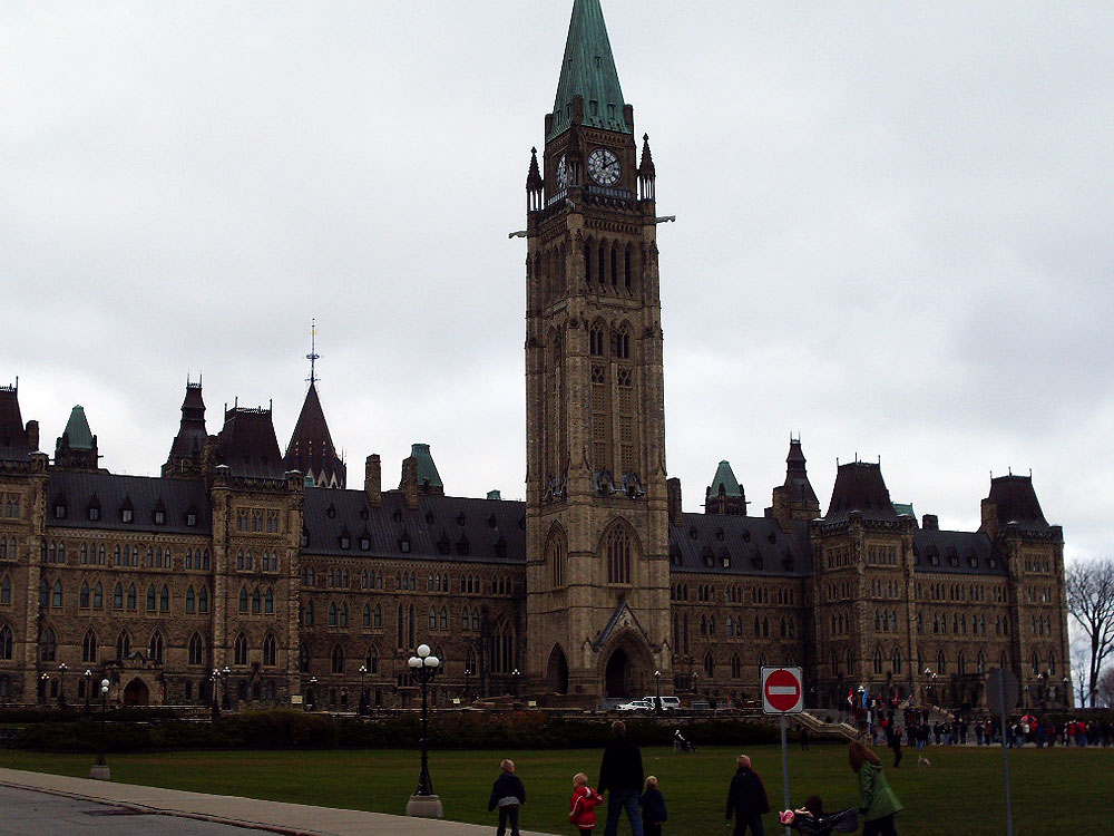 Capital Hill in Ottawa