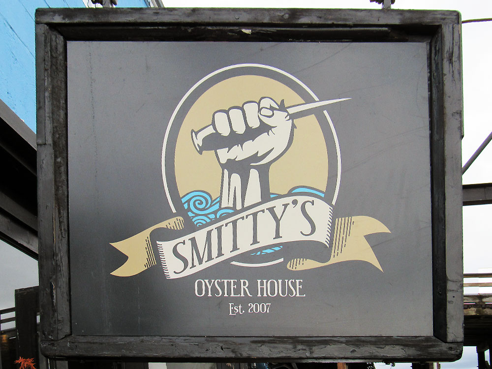 Smitty's Oyster House Sign