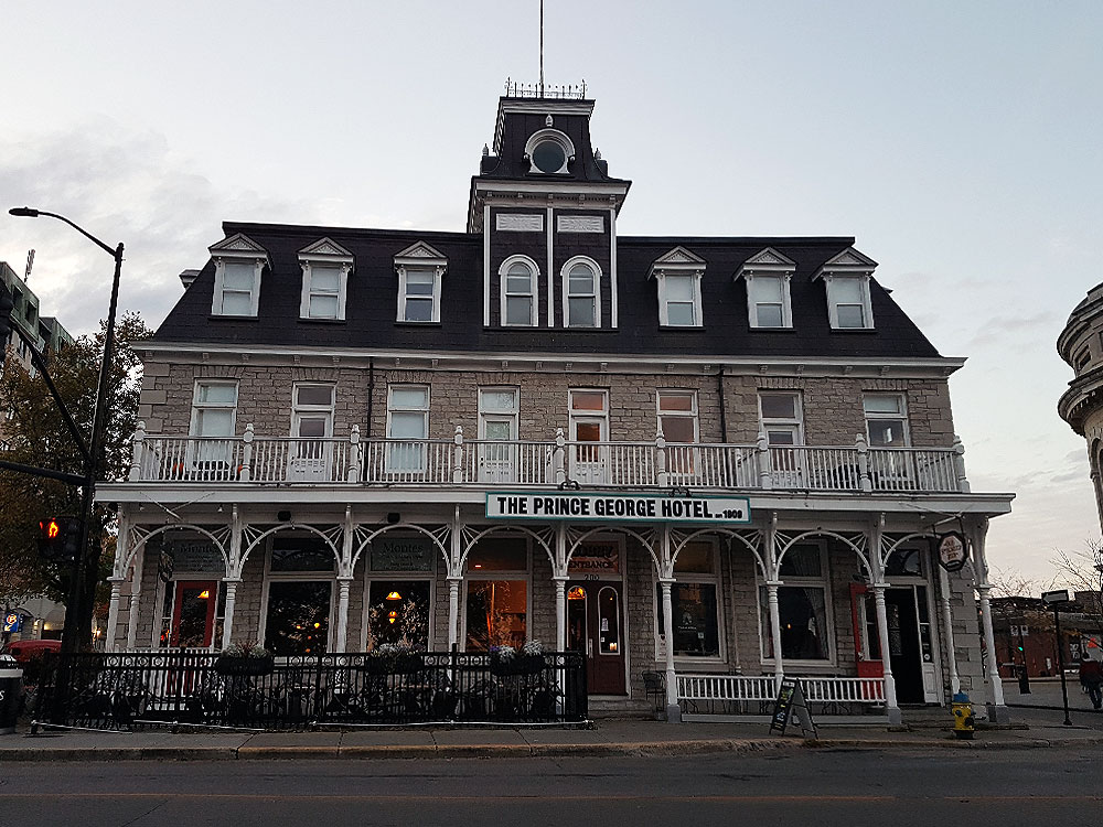 Prince George Hotel in Kingston