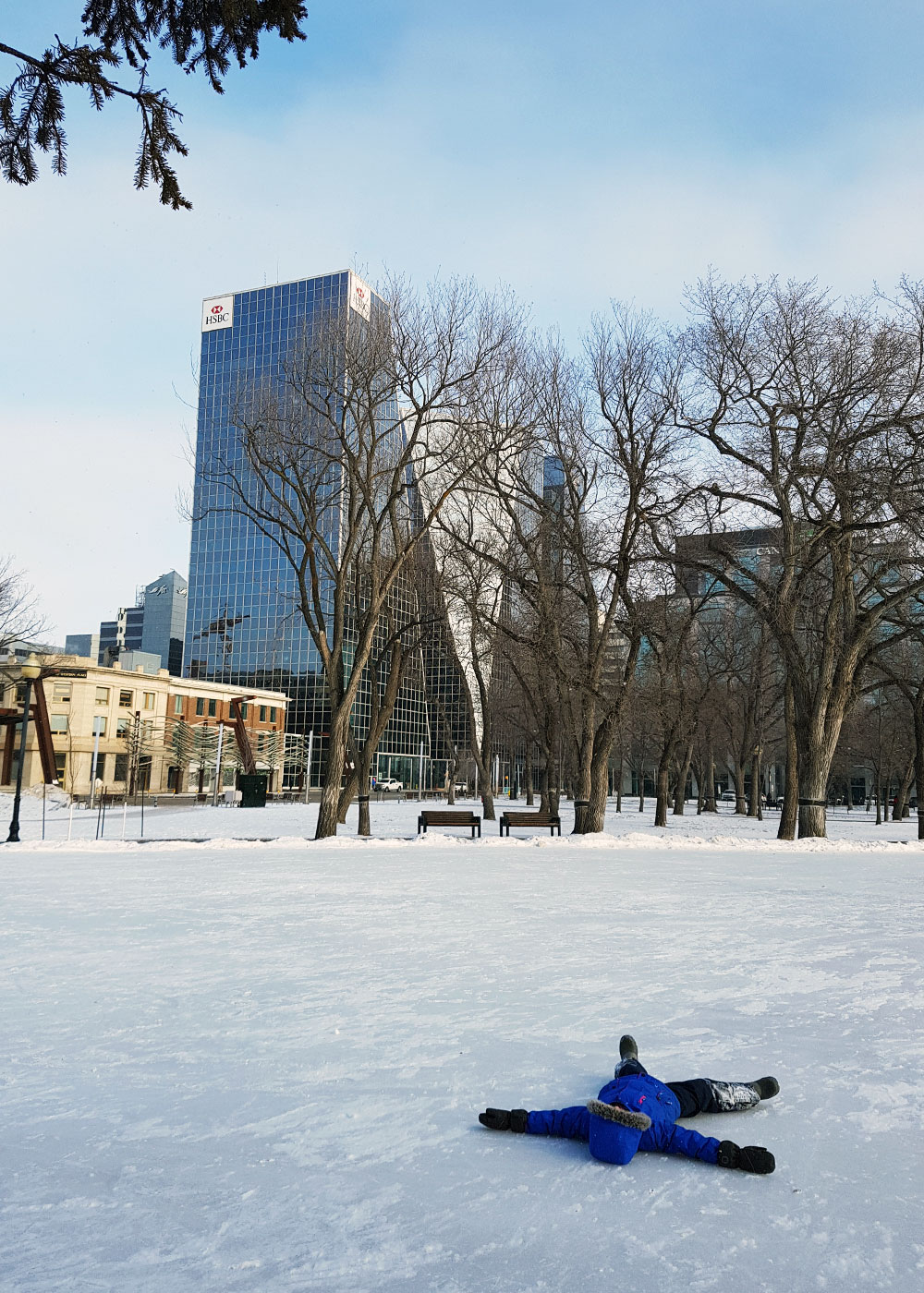 Rink downtown