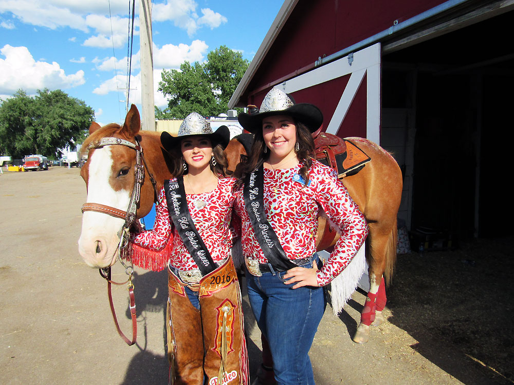 The Medicine Hat Stampede Queen and Princess