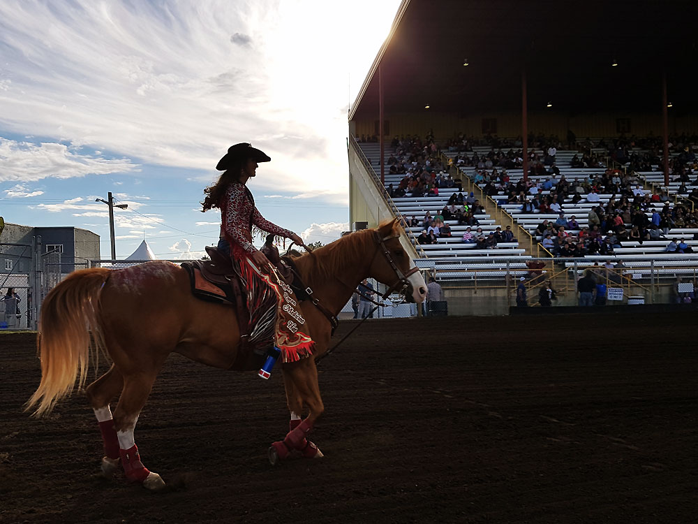 The Medicine Hat Stampede Queen