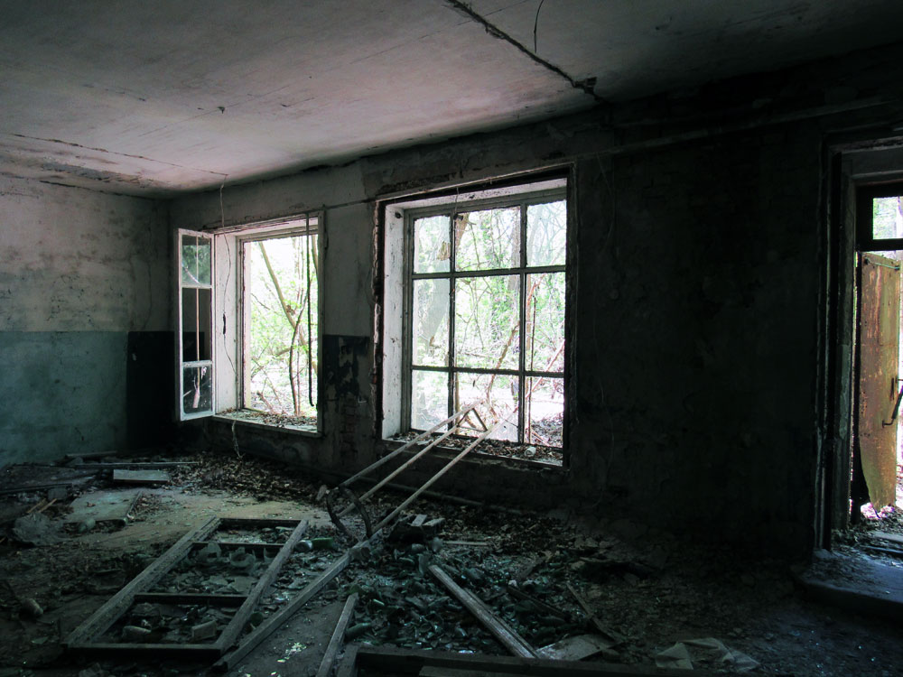 Building in Chernobyl