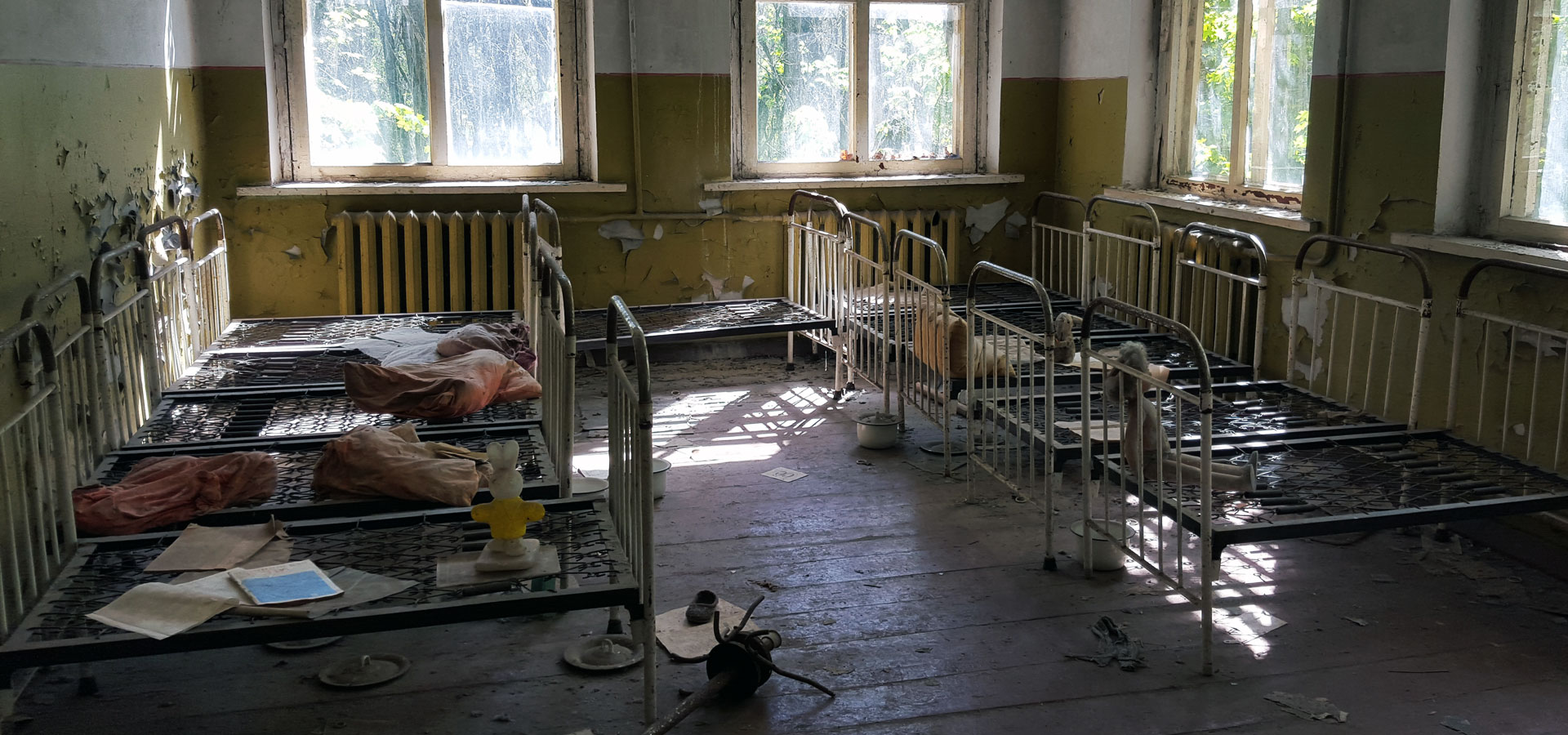 Bedroom in Chernobyl