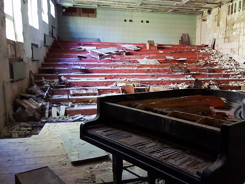 Piano in Chernobyl
