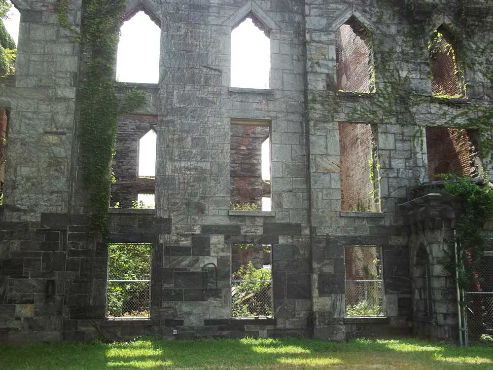 Smallpox hospital near New York